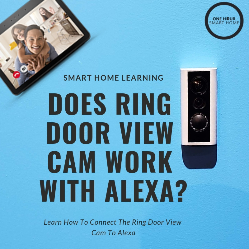 Does  Ring Door View Cam  work with Alexa? Yes, we teach you how to connect your Ring Door View Cam To Alexa.