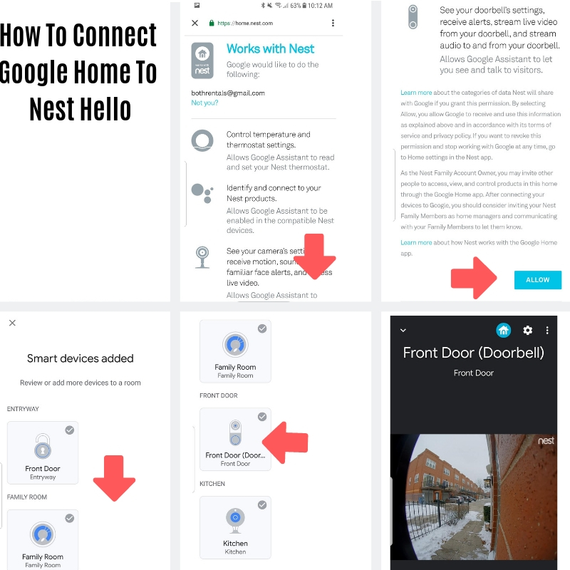 Connect G oogle Home Mini  As A Nest Doorbell Chime