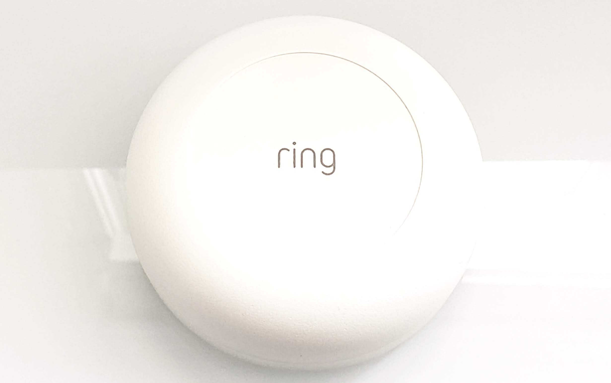 Ring Security SYstem Review:  Ring Flood & Freeze Sensor