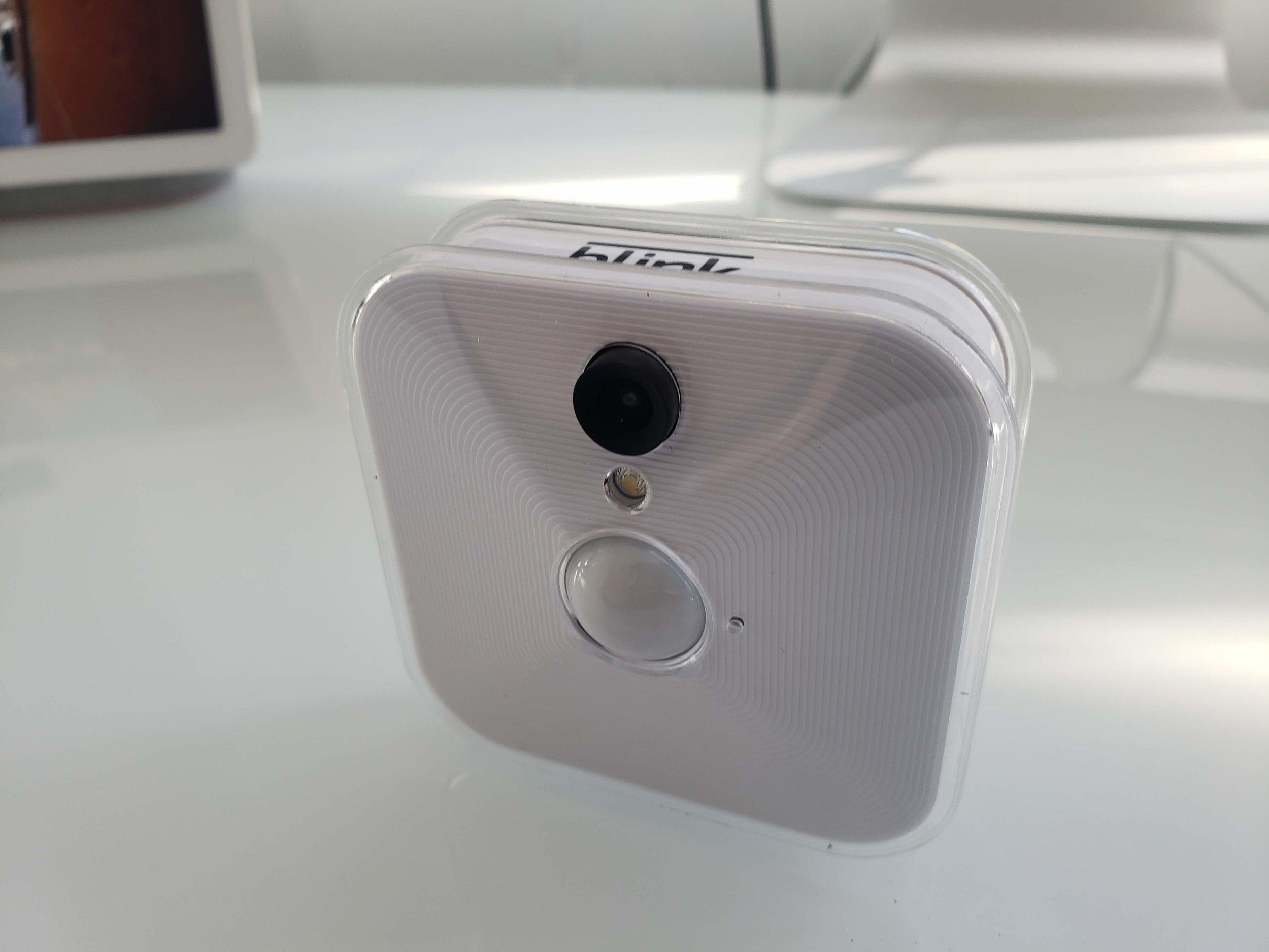 Best Smart Cameras That Work With Alexa:  Blink Indoor Camera