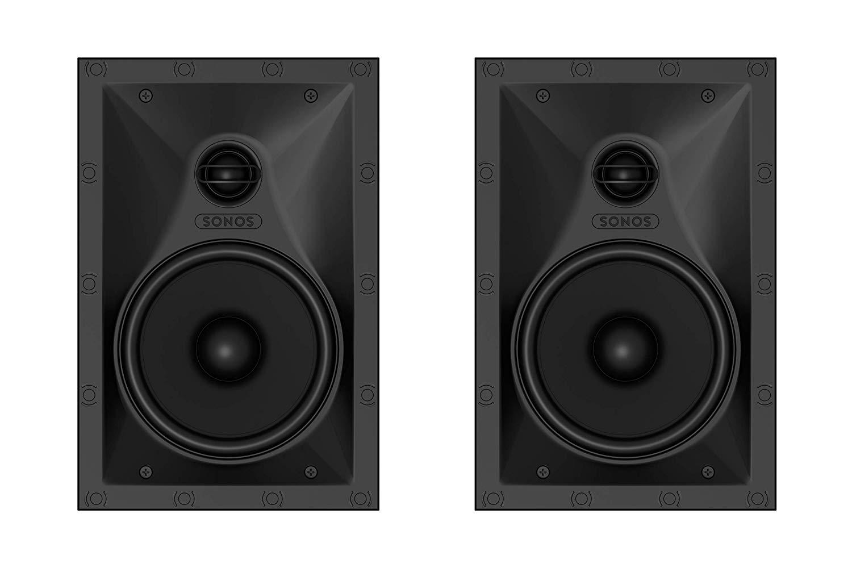 In Wall Built In Sonos by Sonance Speakers