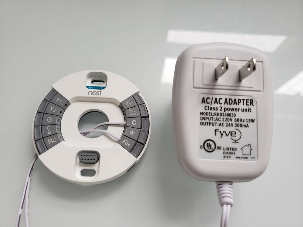 How To Install A Nest Common Wire — OneHourSmartHome.com Thermostat Wiring No Common on electric baseboard thermostat wiring, conventional thermostat wiring, typical thermostat wiring, common thermostat wire, proper thermostat wiring,