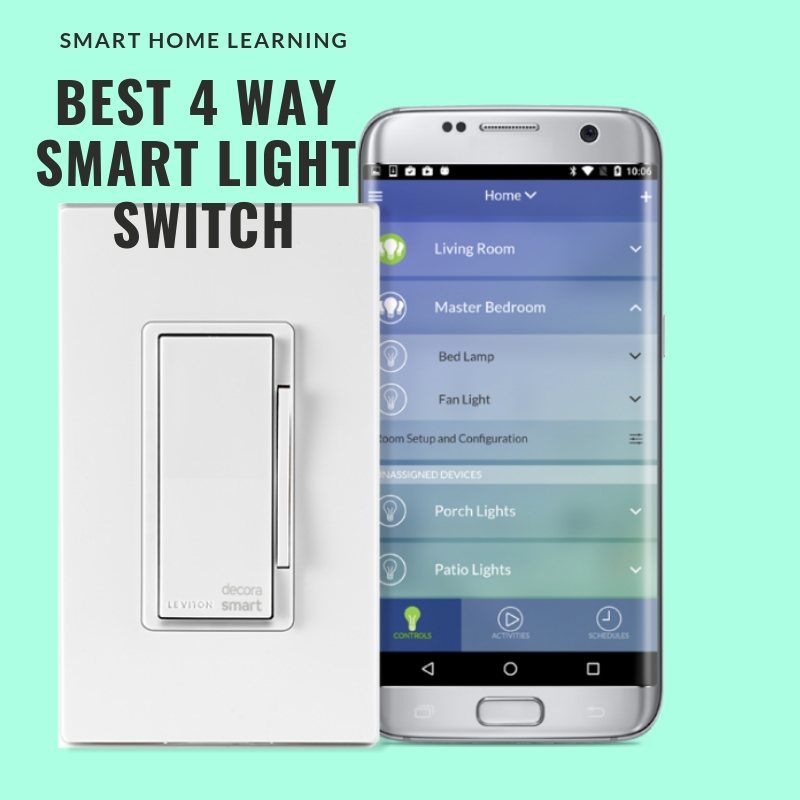 Best 4 Way Smart Light Switches — OneHourSmartHome.com  Way Switch Diagram Wiring For Z Wave on