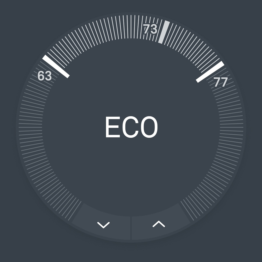 Nest vs Ecobee Review: Nest Thermostat Eco Mode