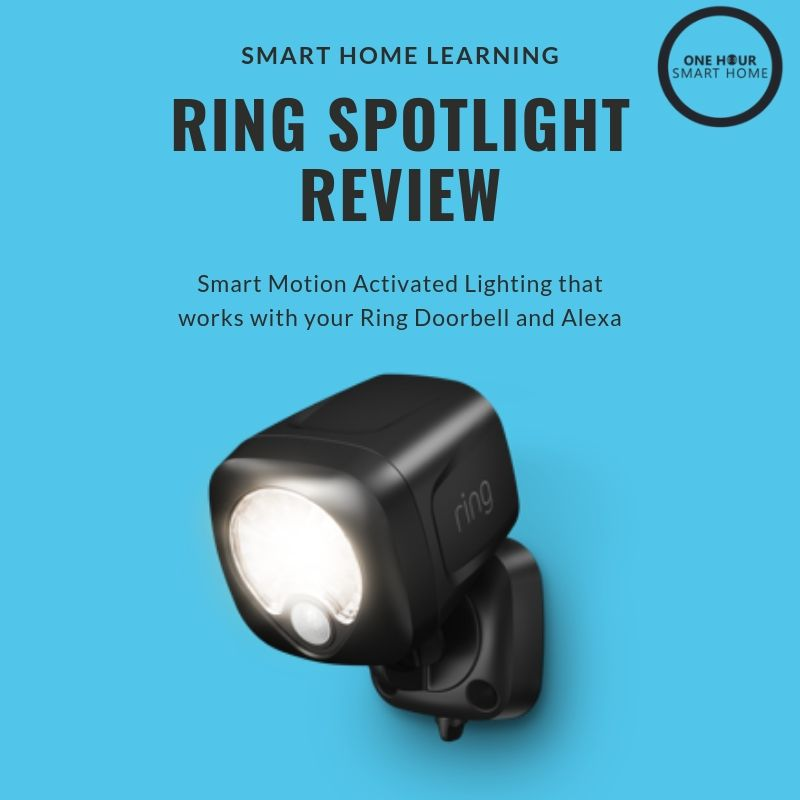 Ring Smart Lighting Spotlight  Review
