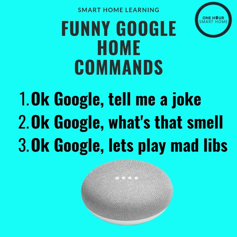 Funny Google Home Commands