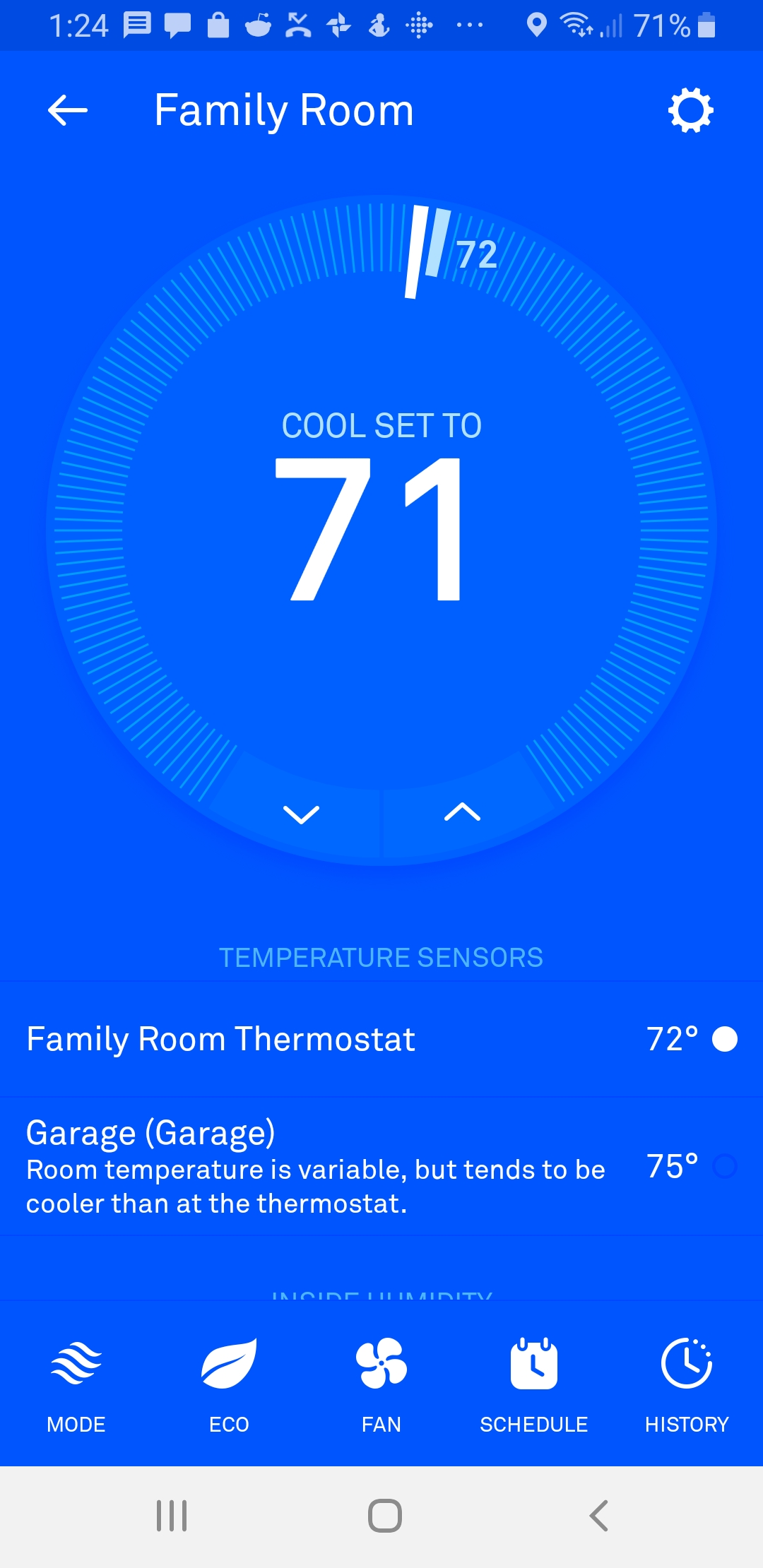 Nest Thermostat Review 2019:  Nest Thermostat App