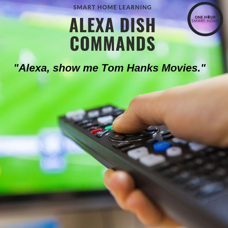 Alexa Dish Commands