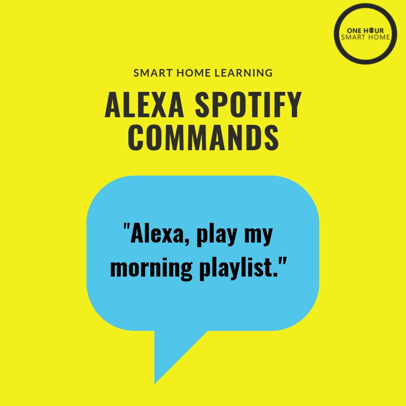 Alexa  Spotify Commands