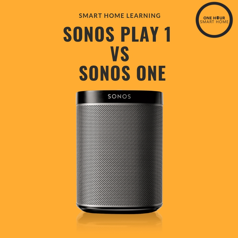 Sonos Play 1 vs Sonos One