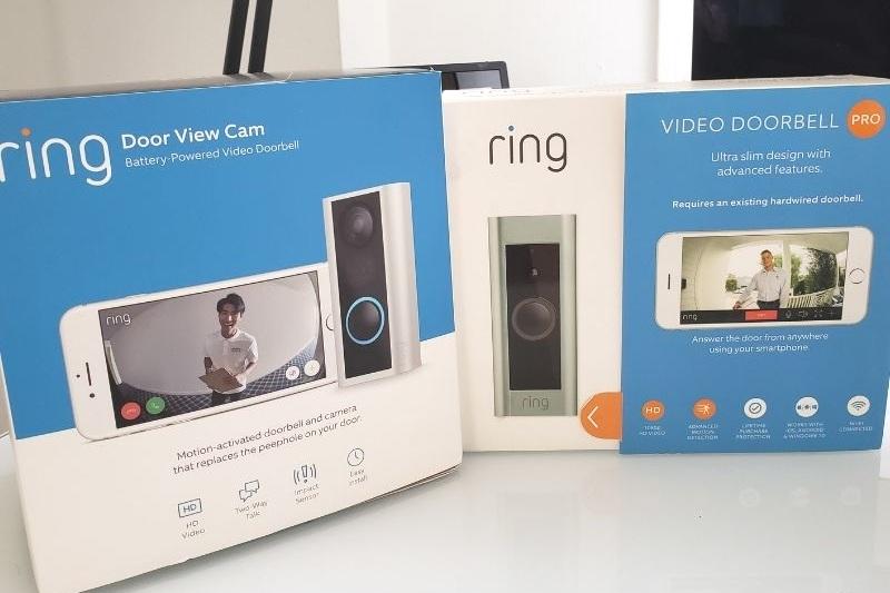 Ring Doorbell Pro vs Ring Door View Cam
