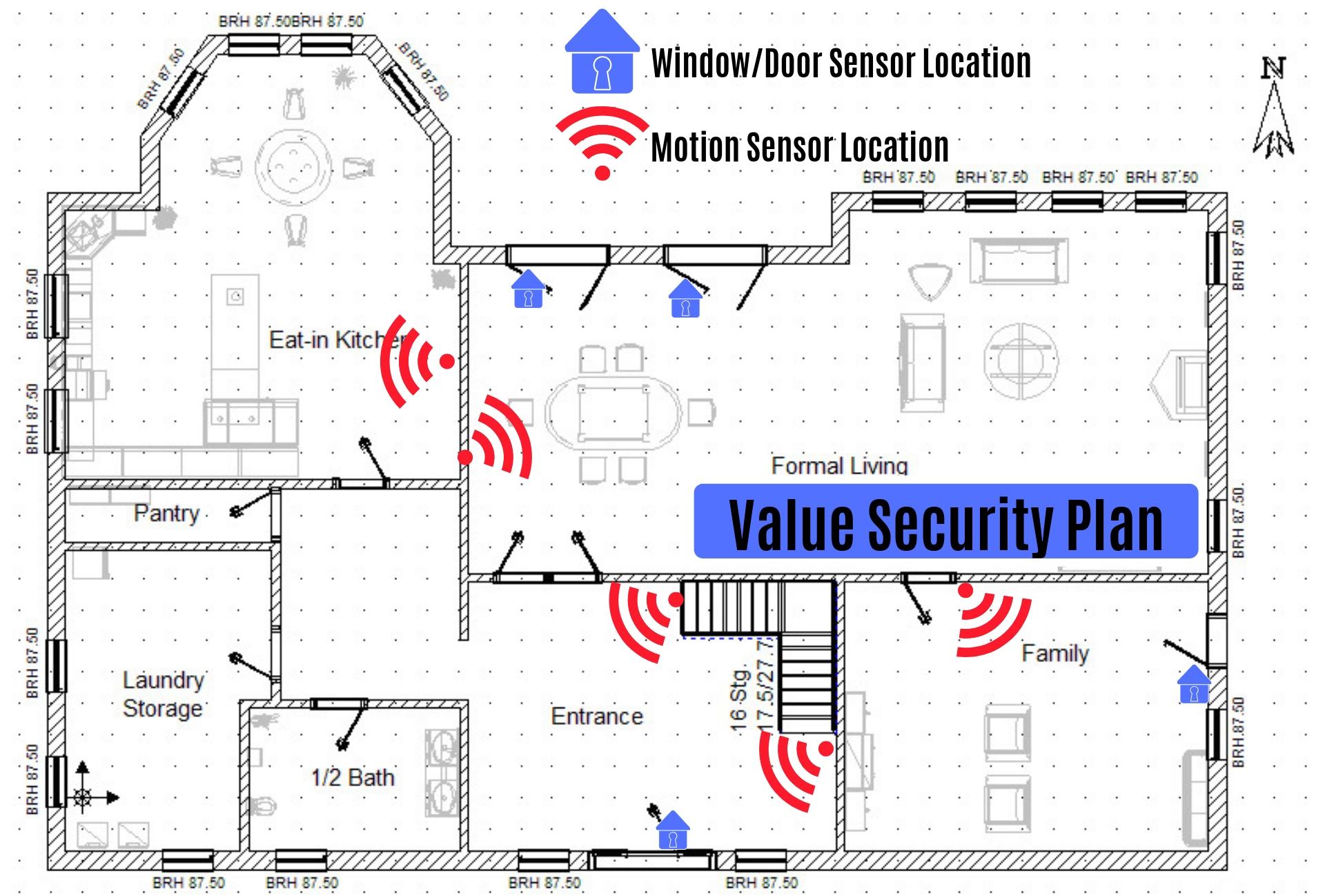Ring Security System Sensor Setup