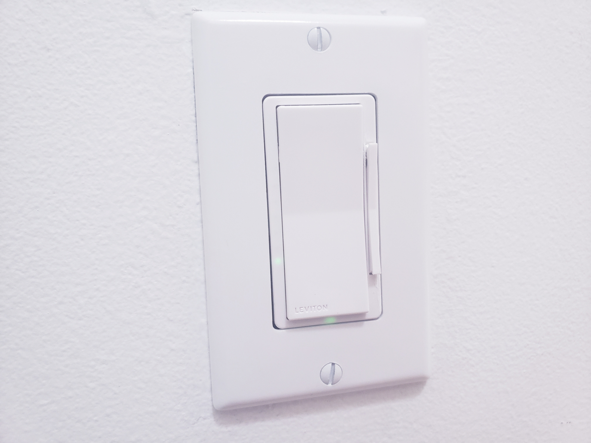 Leviton Smart Dimmer Switch  Installation