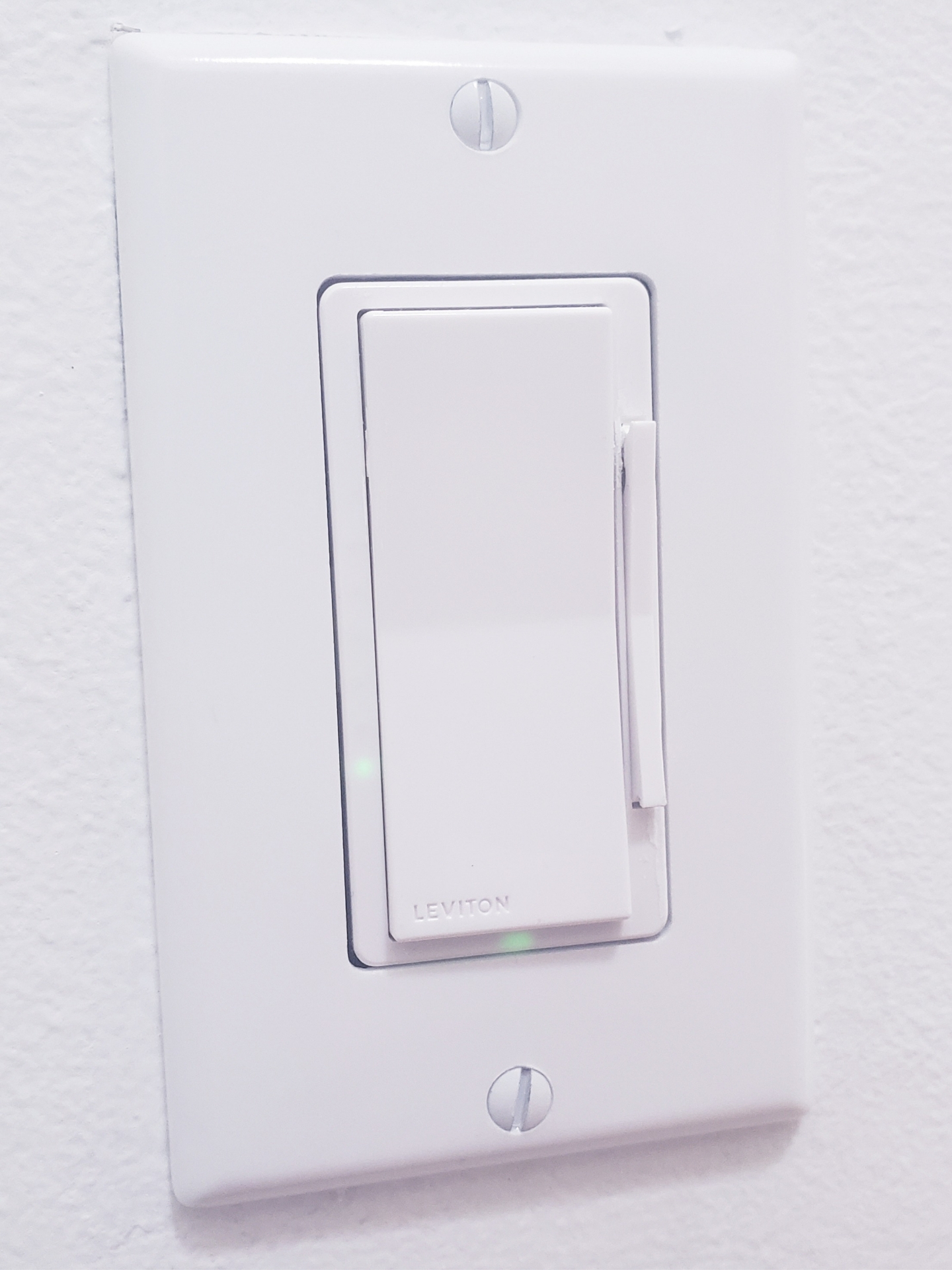 Remote Control Light Switch Installed