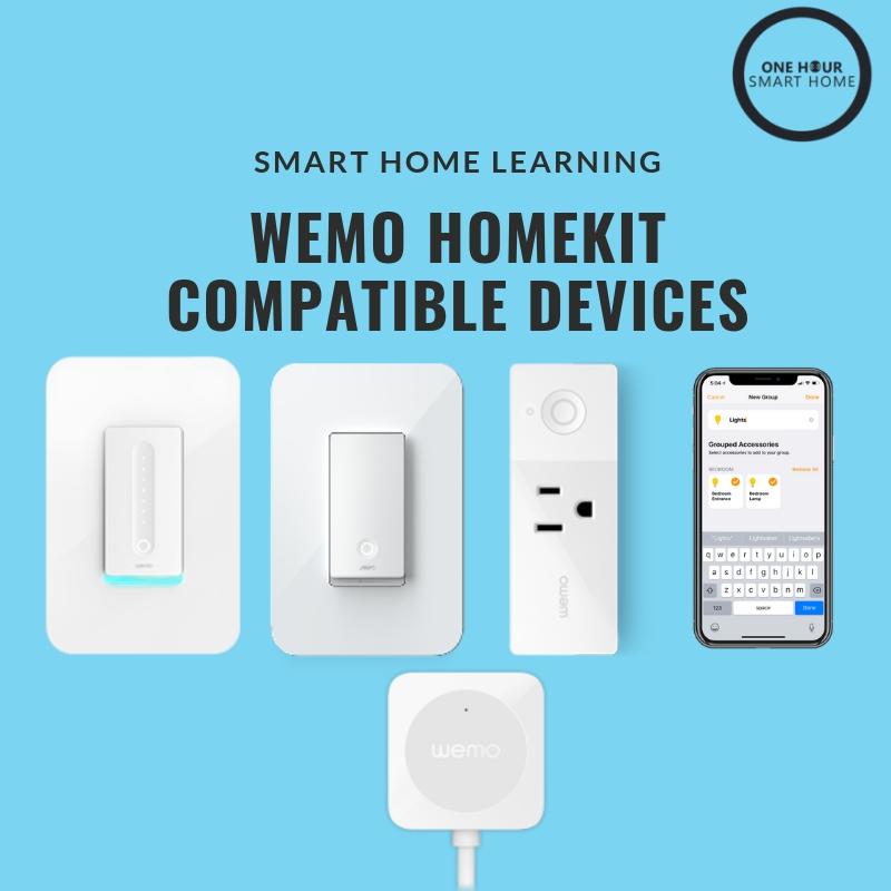 Wemo HomeKit  Compatible Devices