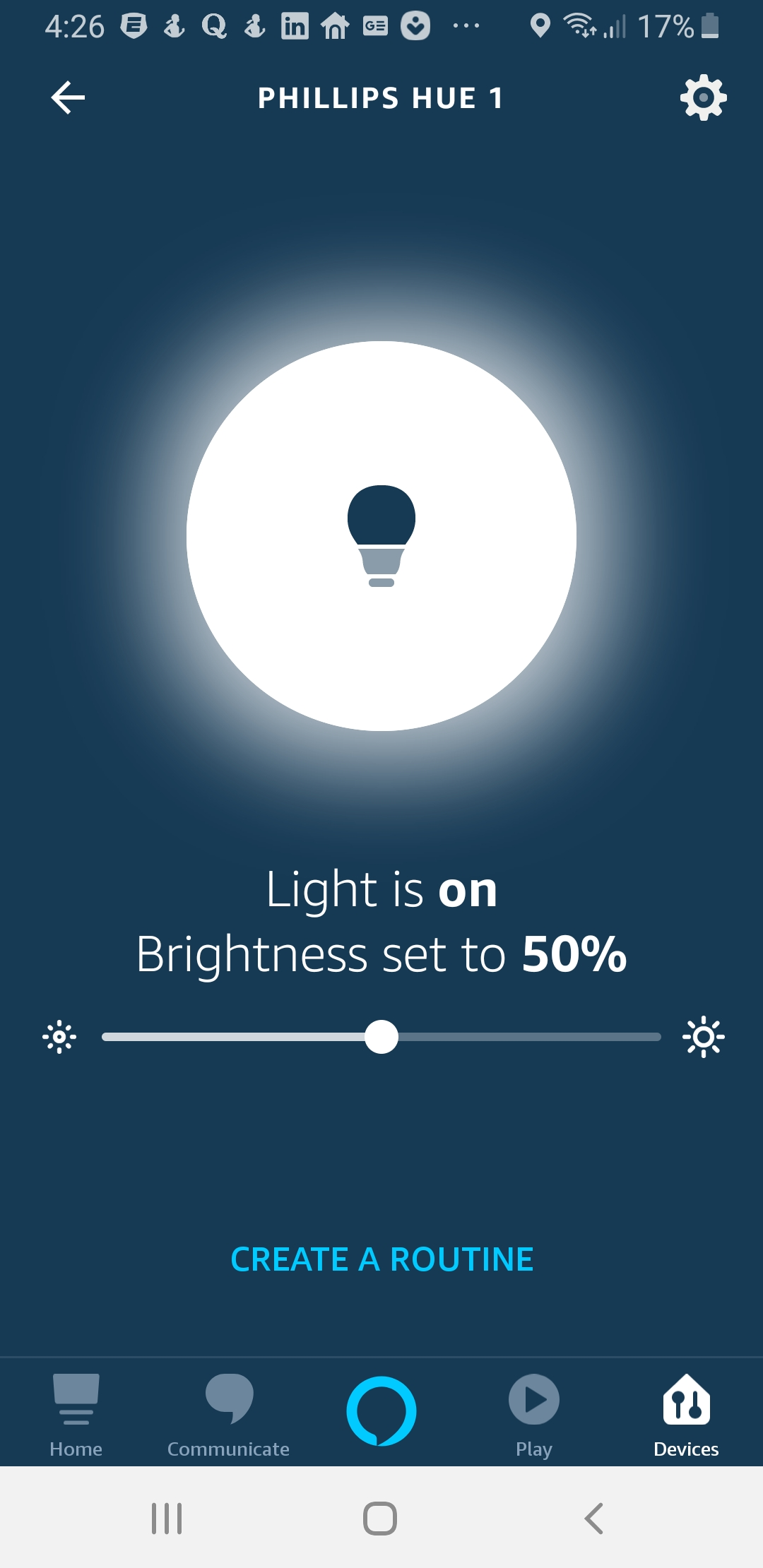 You can dim Alexa Smart Light Bulbs with your voice and adjust the brightness.