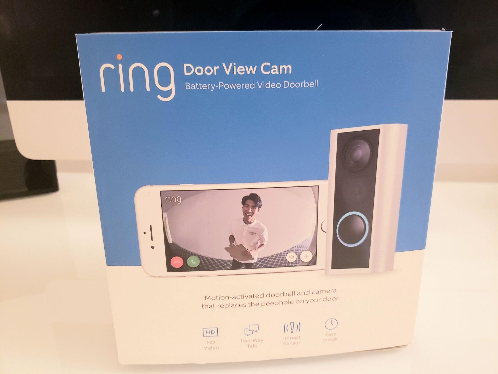Best Battery Powered Video Doorbells: Ring Door View Cam is a great option.
