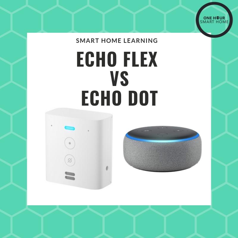 Echo Flex vs Echo Dot