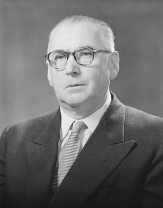 Sir William Dunk  (1897-1984), First RCS ACT President