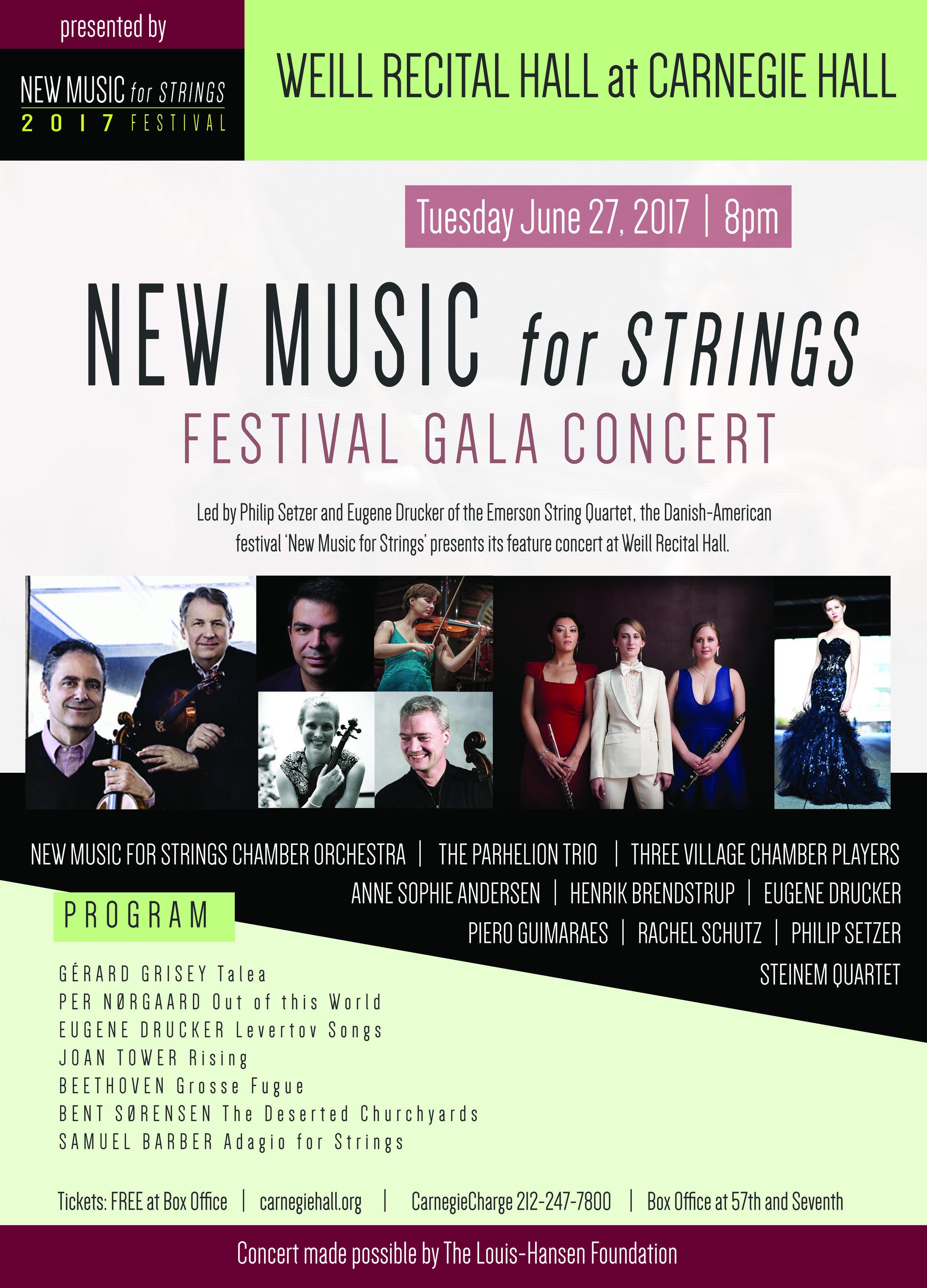 New Music for Strings