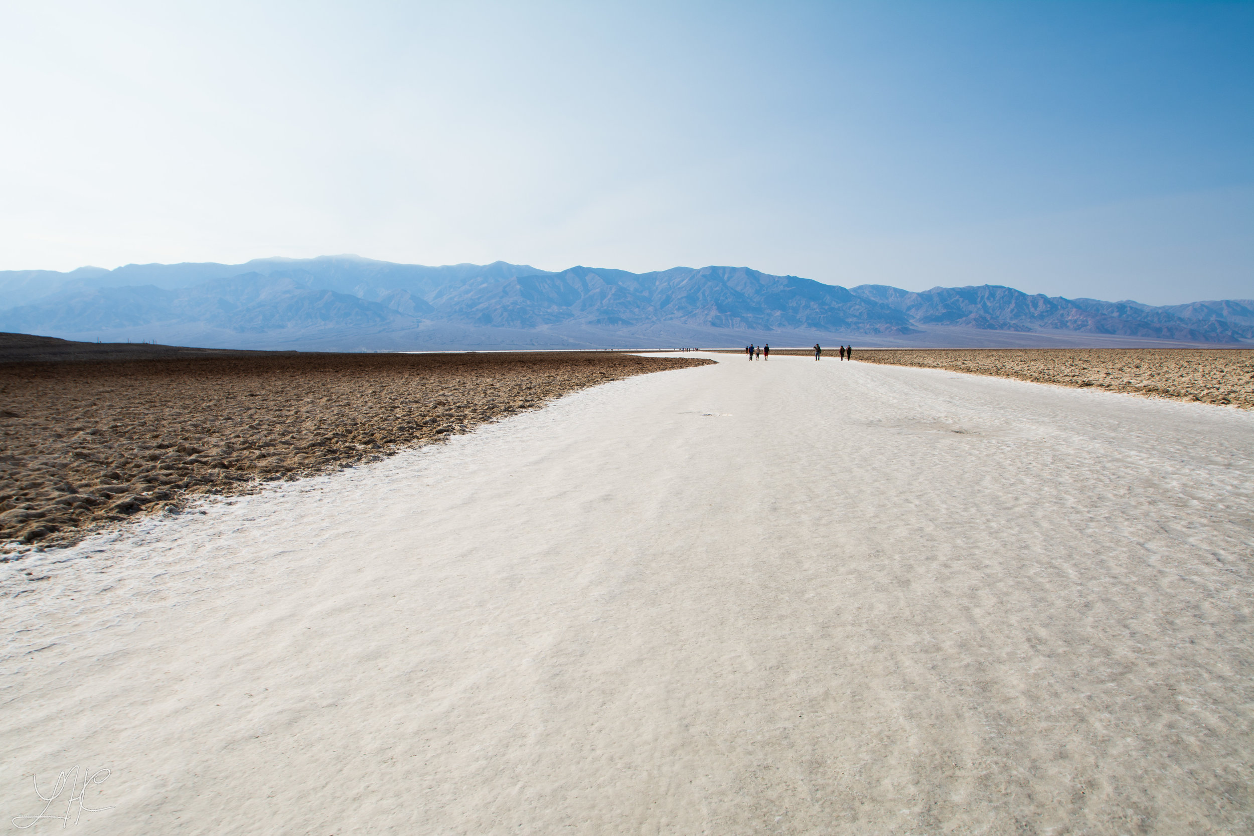 Lowest point in Contiguous US, Badwater Basin (-282 ft below sea level), Death Valley National Park