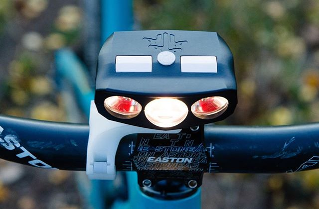 ENTER TO WIN A HYDRA3 BIKE LIGHT!  In anticipation of our Kickstarter Campaign launching Thursday (9/27/2018), we are giving away one Hydra3 bike light! The Hydra3 is the first bike light that senses the motion of your bike and digitally steers the light around corners like headlights on high-end luxury cars. Now you can ride tight switchbacks and flow through single-track with confidence.  Follow the link in our profile to enter. • • • #bikelights #mtb #nightriding #startuplife #mysticdevices #exploretheunknown #geargiveaway