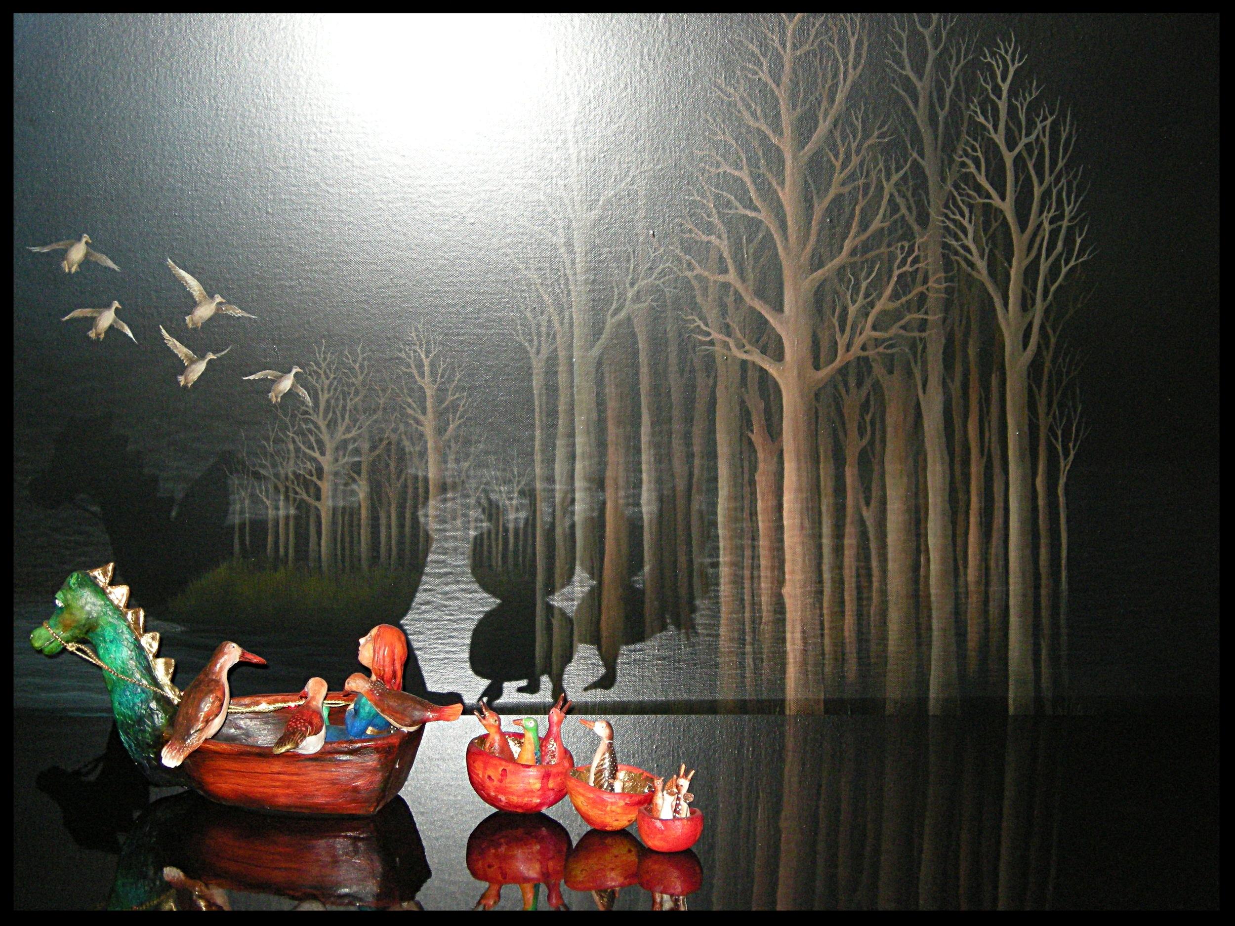 Don't frighten the Ducks