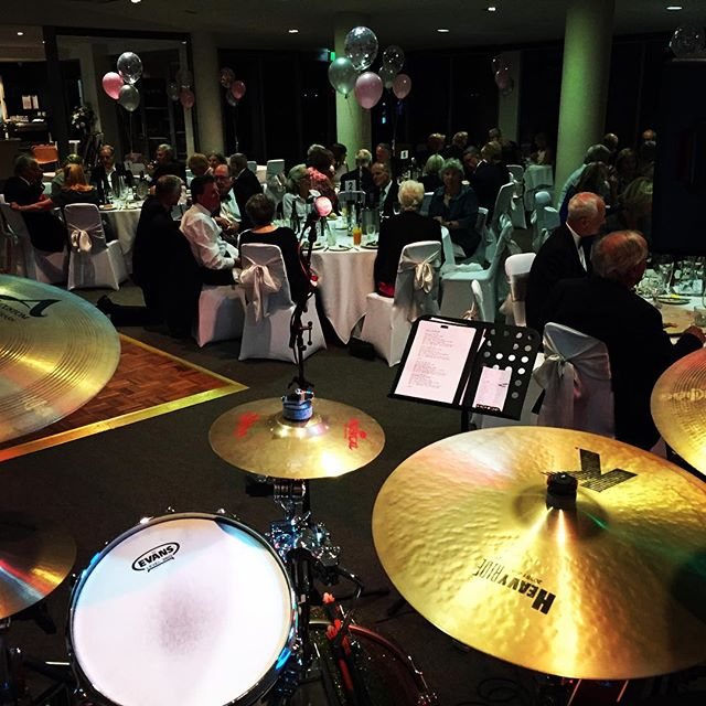 Rocking out a 70th birthday tonight at @royalbrightonyachtclub - beautiful venue and awesome people! Plenty of classic tunes getting some play tonight #jibberishband #geelongbands #geelongmusic #musicislife #giglife