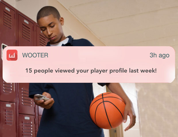 Player Notifications for all sports. Free sports management software.
