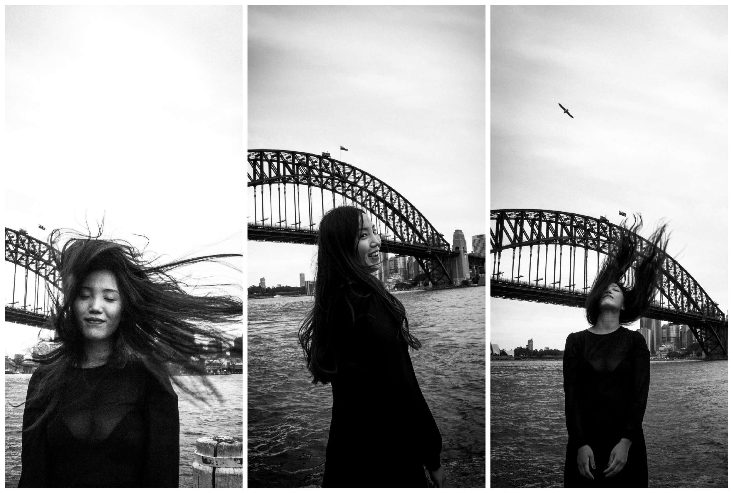 Laughing with the Harbour Bridge - Milsons Point