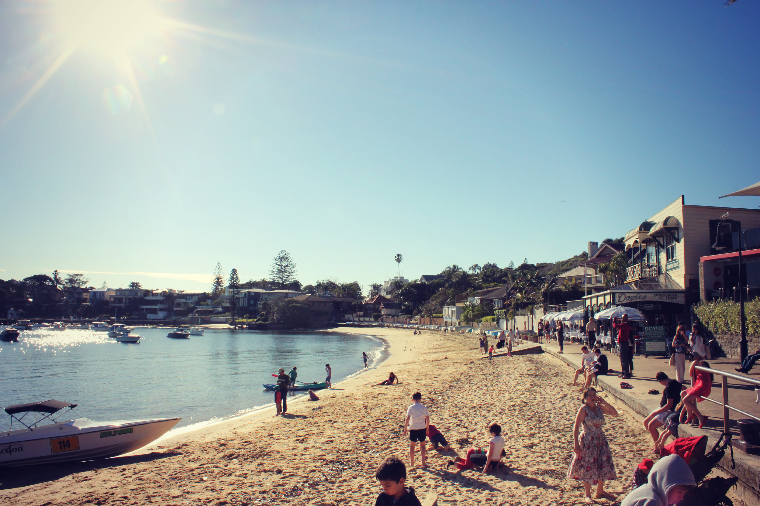 A winter day in Watson's Bay - photo: Marine Raynard