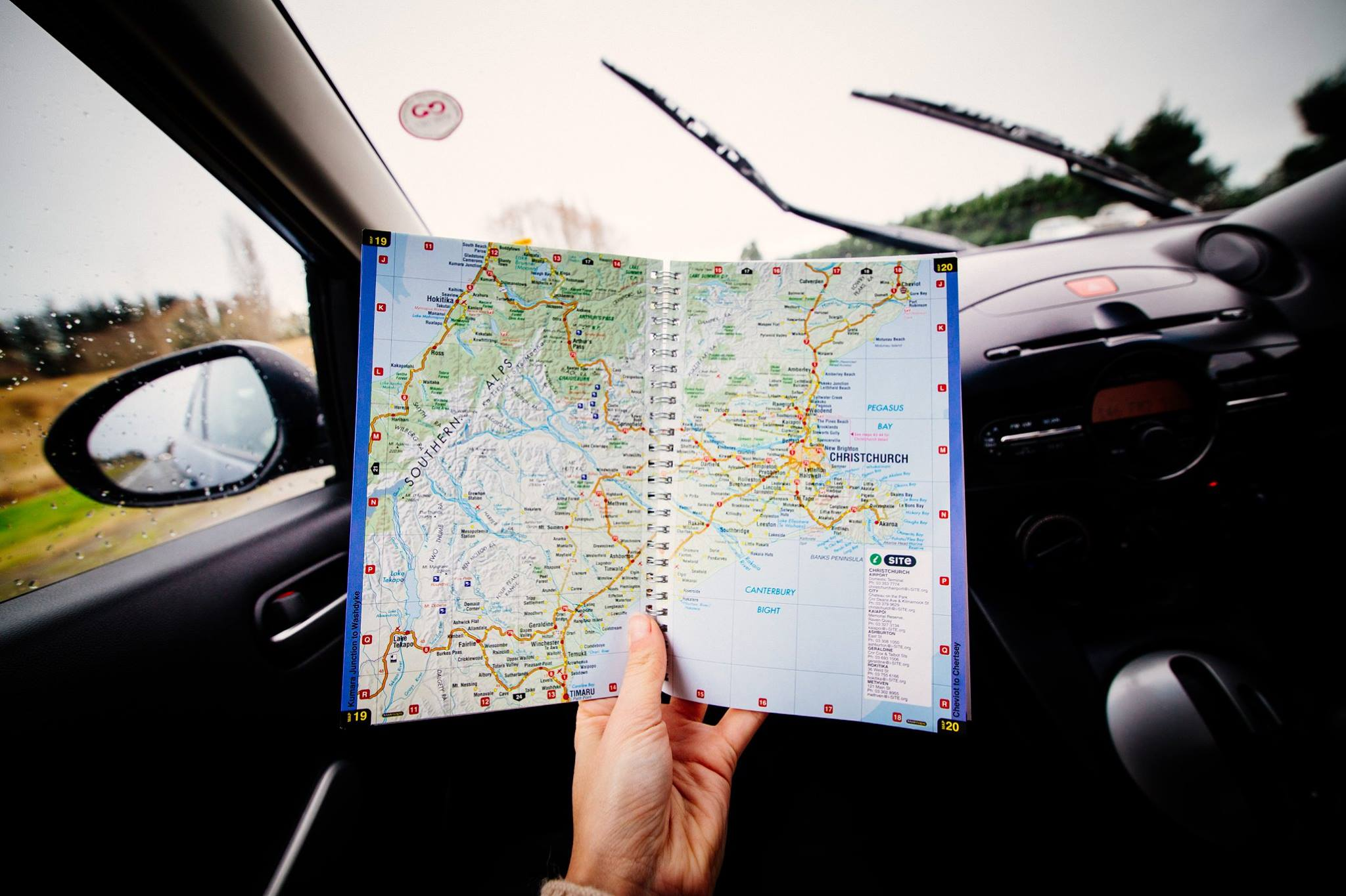 On the way to Kaikoura from Christchurch. Photo: Marine Raynard
