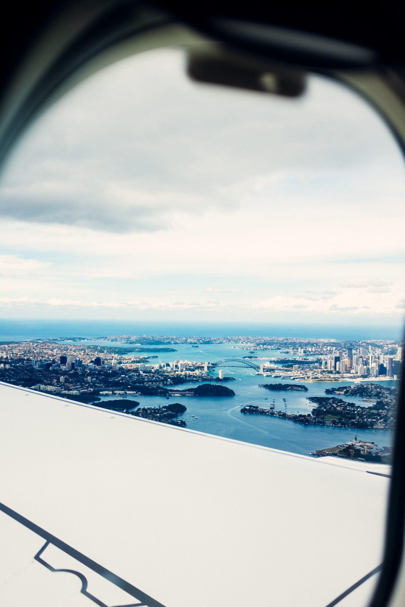 Loving Sydney! Photo: Marine Raynard