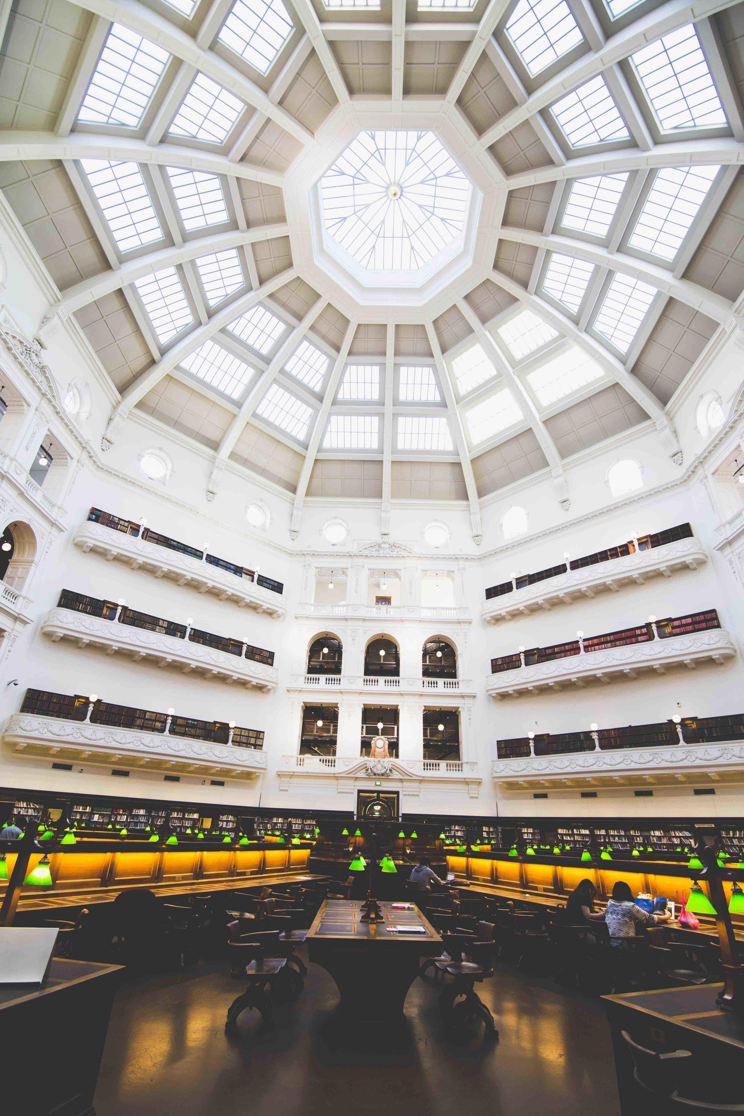 National Library of Victoria. Photo: Marine Raynard