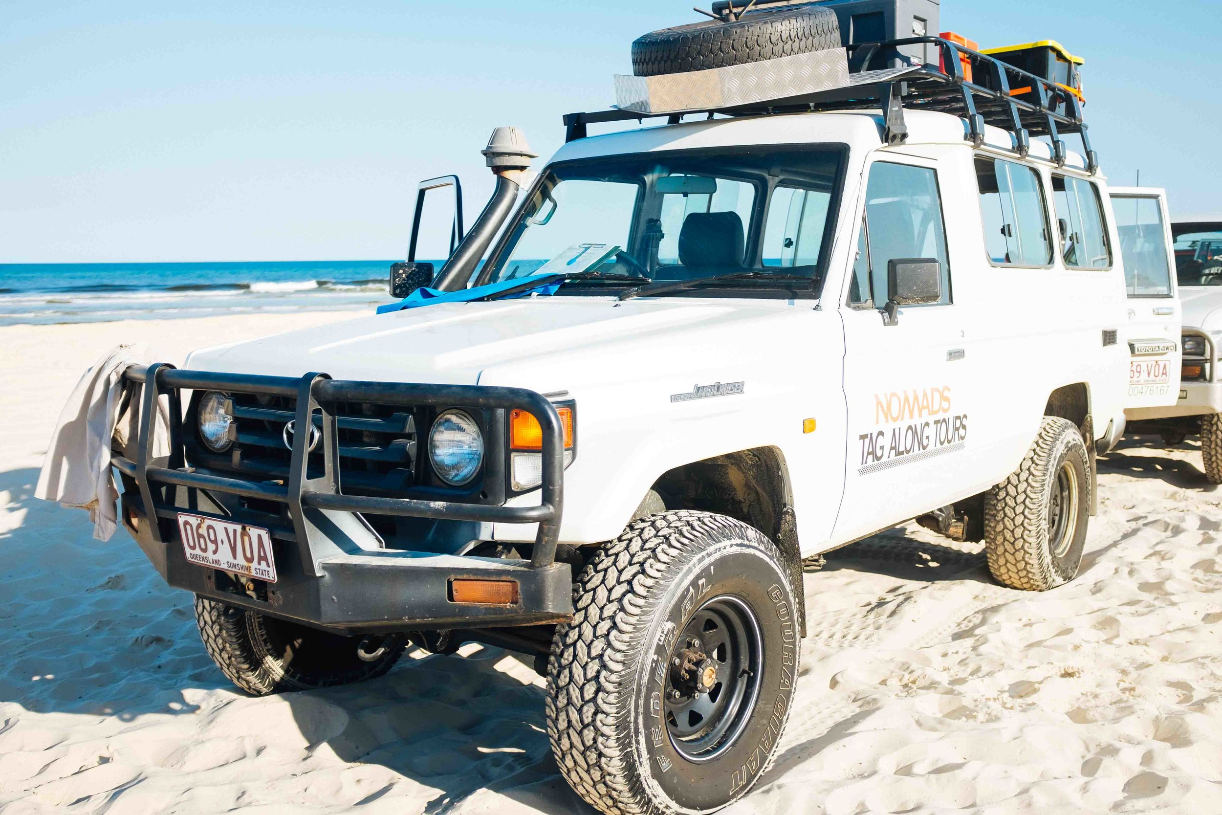 fraser island tag along tour