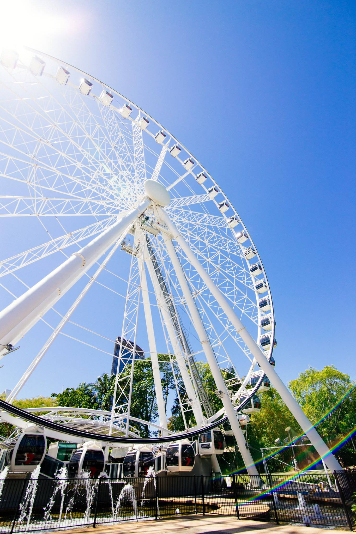 South bank big wheel