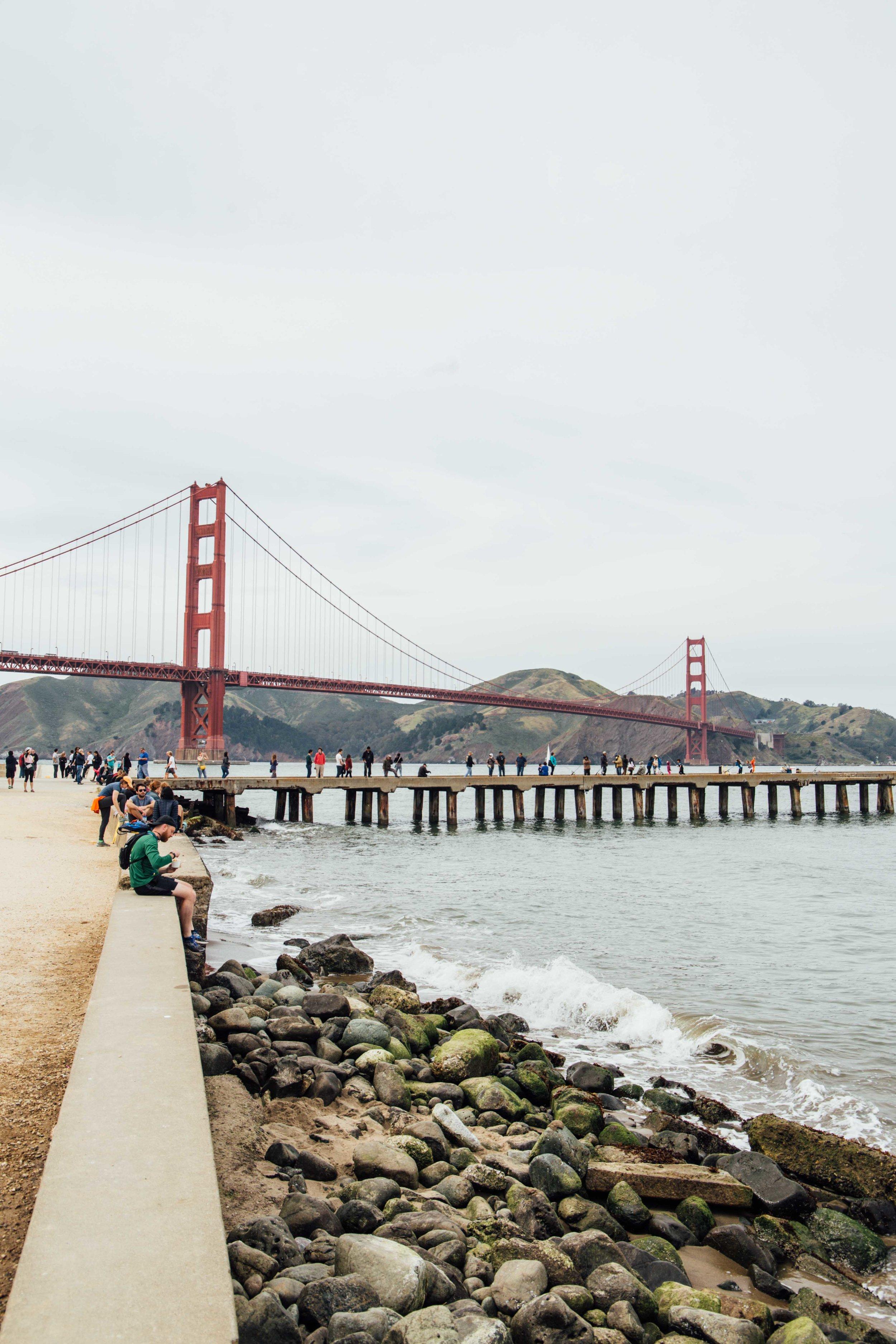 Walk to the Golden Gate Bridge. Photo: Marine Raynard