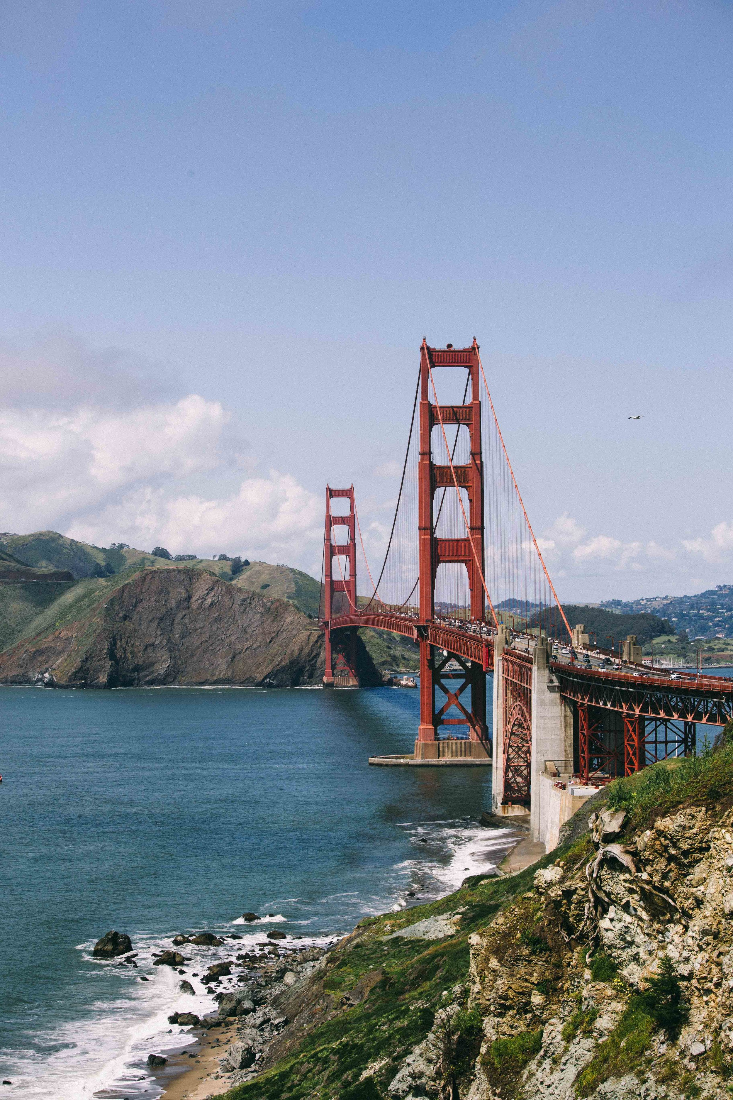 More crazy view of the Golden Gate Bridge. Photo: Marine Raynard