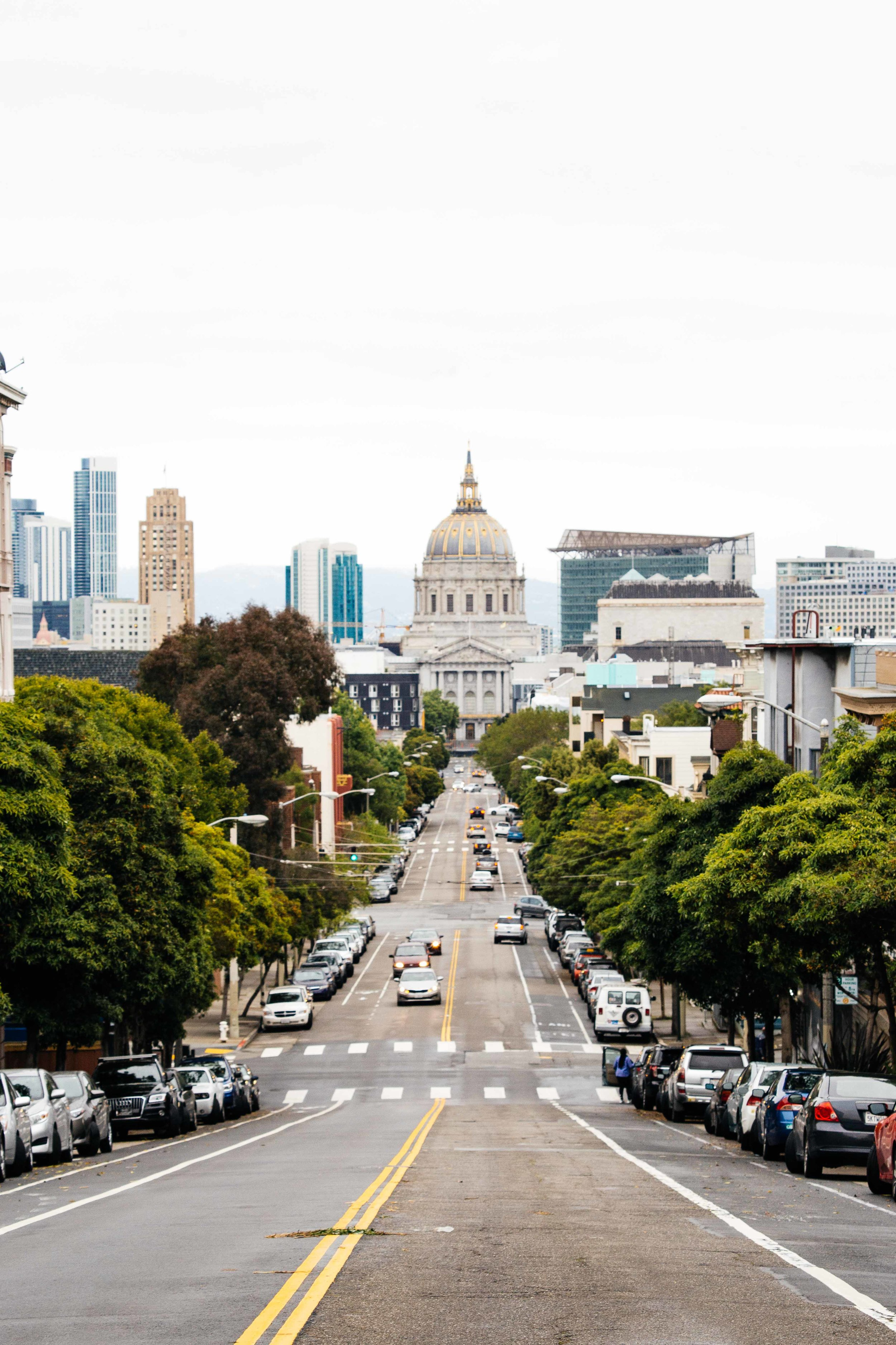 One of San Francisco's streets. Photo: Marine Raynard