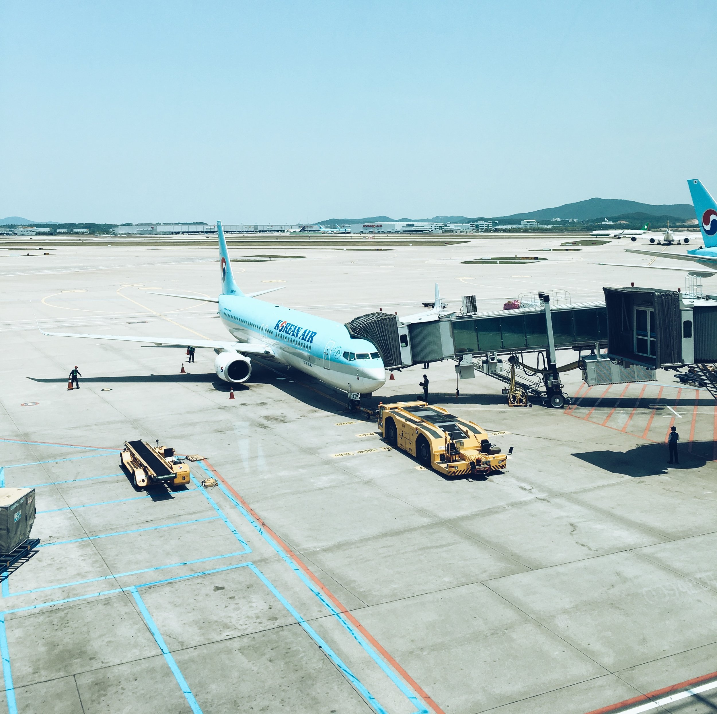 My stopover in Seoul from Austrlaia to Europe, South Korea with Korean Air.