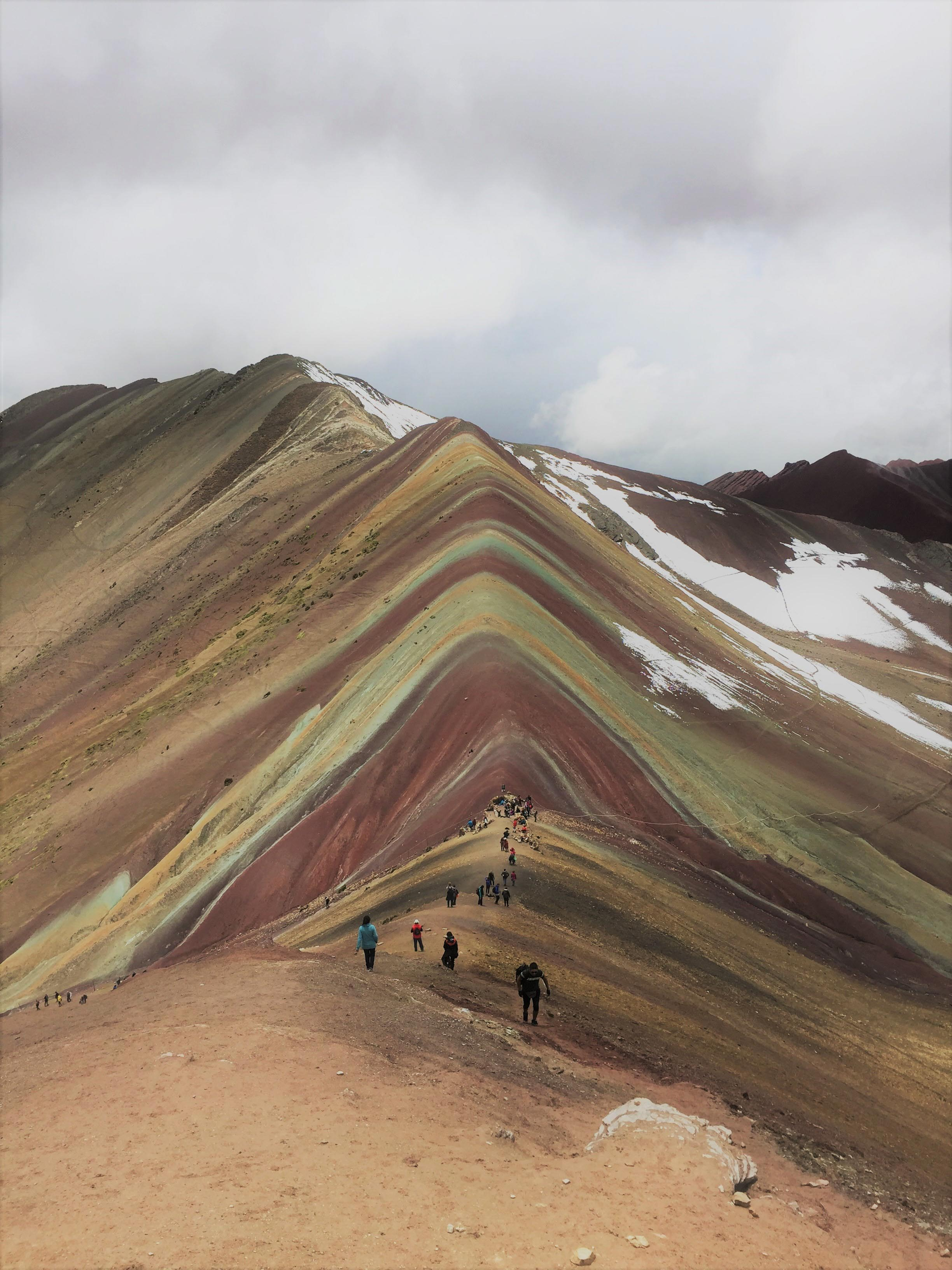 Vinicunca Mountain, said the 7 colours mountain, in Peru.