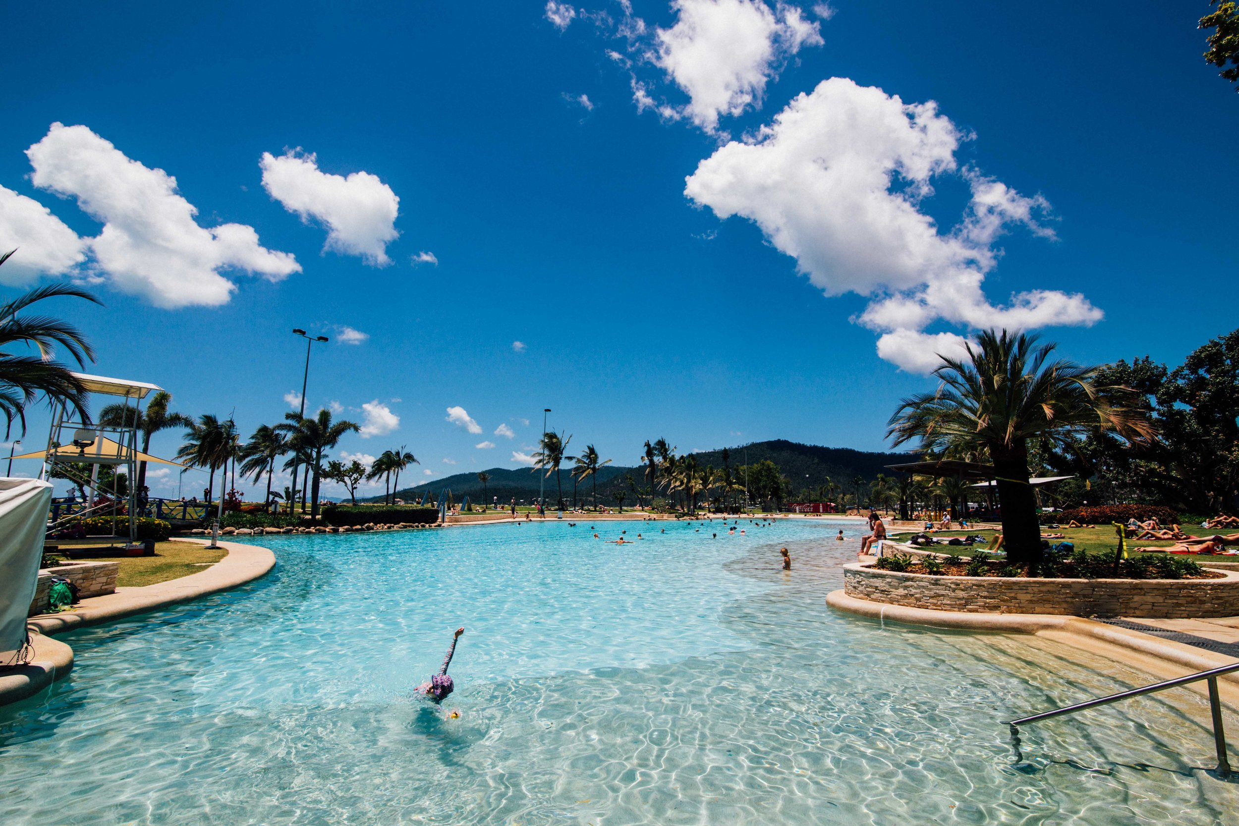 Airlie Beach Free Lagoon! Photo: Marine Raynard.