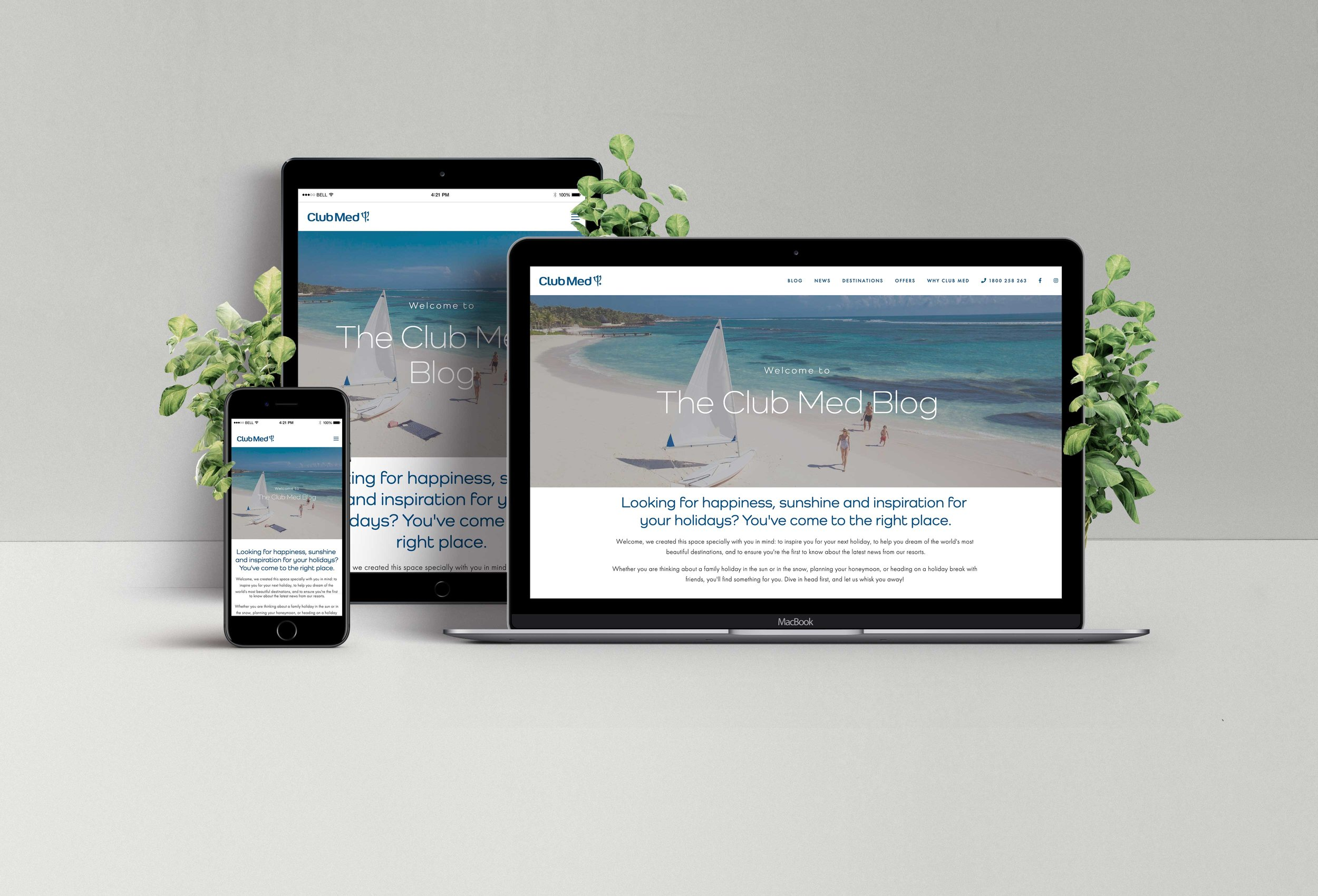 Built this blog through Squarespace after transitioning from Wordpress:  https://blog.clubmed.com.au