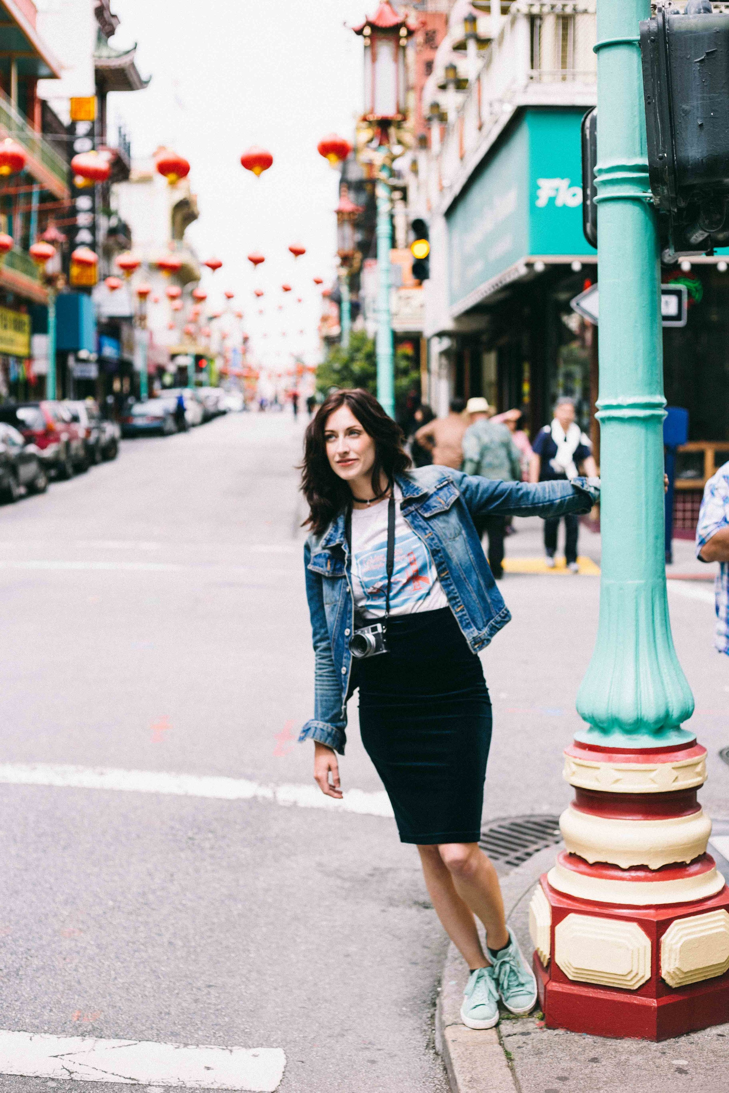 Lauren in San Fran - Lifestyle photography