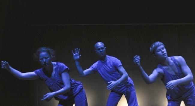Under Pressure  - trio with Natalie Ayton and Kathryn Puie, Riverside Theatres, Paramatta - 2012. Photo: Heidrun Lohr