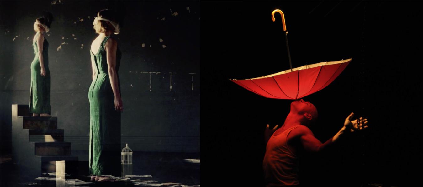 HUMANIOD by Cloé Fournier, photo by Martin Fox | Dean Walsh in FATHOM, photo by Heidrun LLöhr