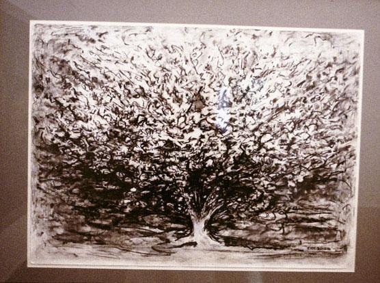 Flowering Crabapple, 1998 – 2000, pastel & charcoal on Whatman 100% rag paper, 56 x 75 cm