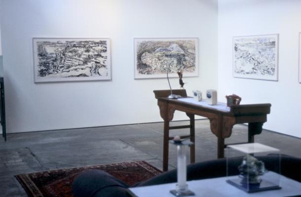 Installation view of Talewind exhibition