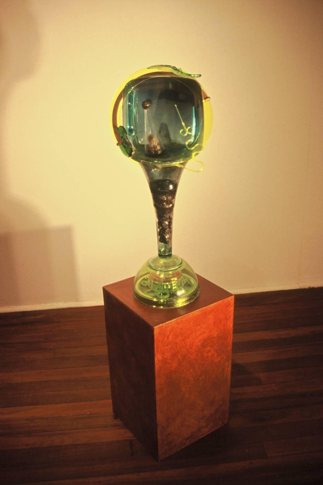 Moon Boy, 2008, mixed media, 83 x 33 x 29 cm