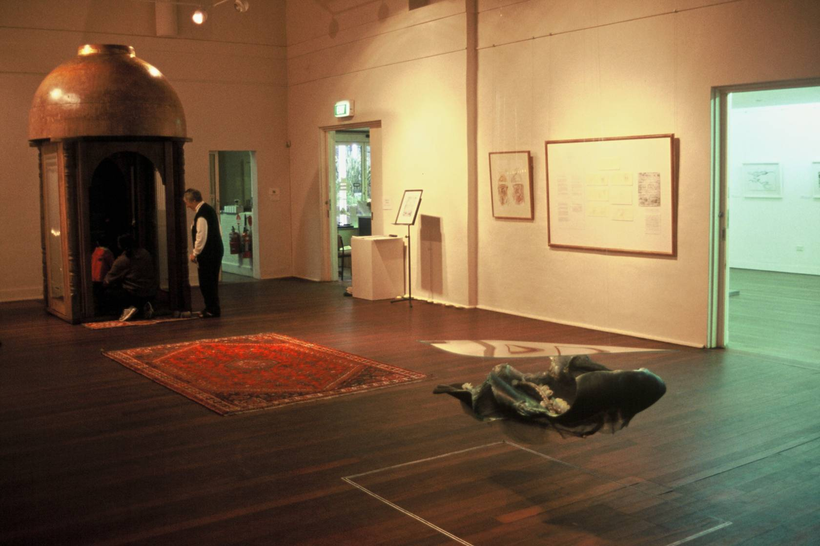 Scored Moments exhibition installation